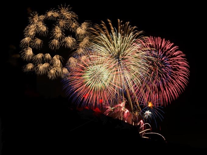 Kanmon Straits Fireworks Festival 2015 Summer
